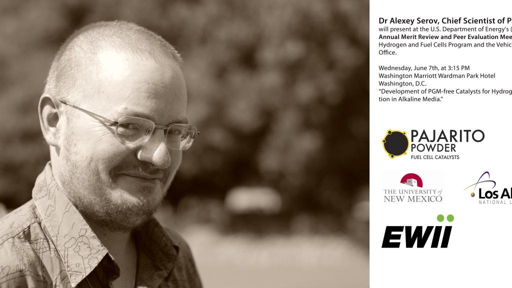 Dr Alexey Serov, Chief Scientist