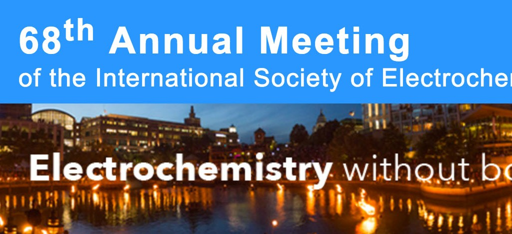 68th Annual Meeting ISE, International Society of Electrochemistry