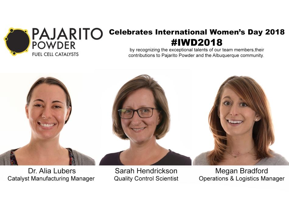 Pajarito Powder celebrates International Women's Day