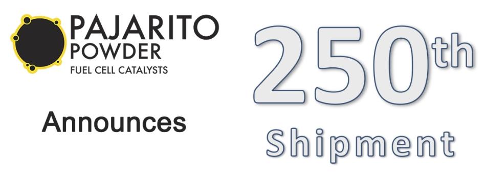 Pajarito celebrates 250th shipment