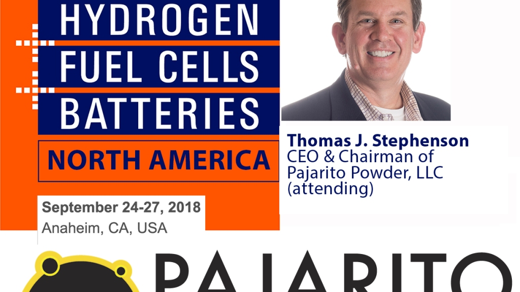 Tom Stephensons attends H2+FC North America at Solar Power International
