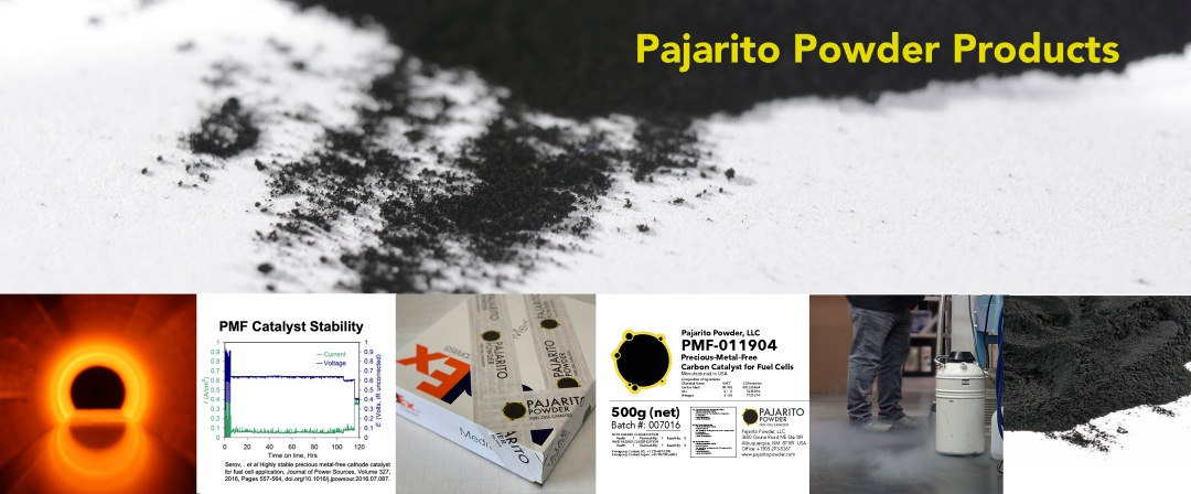 Products – Pajarito Powder – Advanced Fuel Cell Catalyst