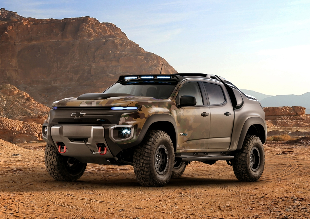 Chevrolet Colorado ZH2-fuel cell